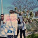 Bartz-Altadonna holds a mini rally at its clinic site in Antelope Valley