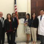 With Rep. Ted Lieu staffer Aurora Paul along with White Memorial Medical Center/Adventist Health, Venice Family Clinic and Mission City Community Network