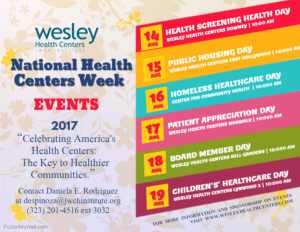 Health Screening Day (JWCH Institute, Inc. + Wesley Health Centers ) @ Downey | California | United States